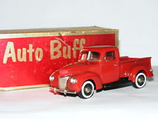 Auto Buff #6 1940 Ford Pick-Up Red 1/43