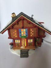 Dept 56 Heidi'S Grandfather'S House 1999 Alpine Village #56177 Retired 2001