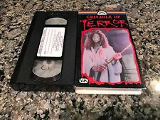 Crucible Of Terror VHS! 1971 Horror! Silent Scream The Nesting Prom Night