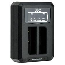 JJC USB Dual Battery Charger for Fujifilm X100 X100S X100T XF10 X70 X30 (NP-95)