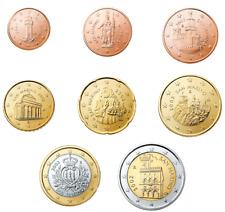 SAN MARINO Tutti gli Euro da 1 Euro Cent a 2 Euro dal 2002 al 2014 (FDC)