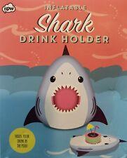 Inflatable Shark Drink Holder