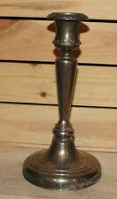 Vintage silver plated candle holder candlesticks Greek key design