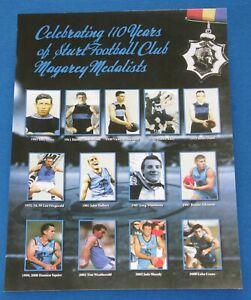 Sturt Football Club Celebrating110 Years of Magarey Medallists Poster SANFL