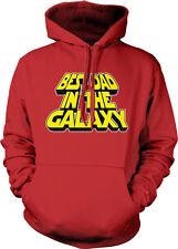 Best Dad In The Galaxy Parody Nerd Movie Geek Fathers Day Hoodie Pullover