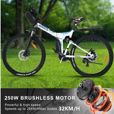"Assisted E-Bike 26"" Folding Electric Bike Mountain Bike City Bicycle 250W Motor"