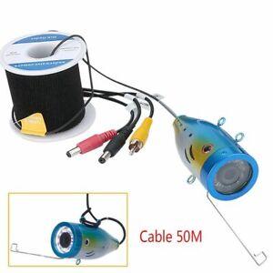 Fishing Cable 1000tvl Underwater 15m 20m 30m 50m+ Camera 12 Pcs Led White Lamp