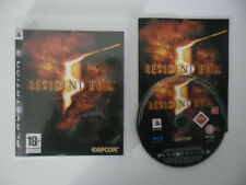 RESIDENT EVIL 5 - SONY PLAYSTATION 3 - JEU PS3 COMPLET