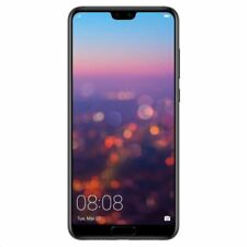 Huawei P20 Eml-l29 128GB, Dual SIM, (Unlocked) Smartphone - Black