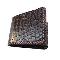 men/'s wallet money /& card holder by SHANT PETER U.S.A Genuine alligator wallet