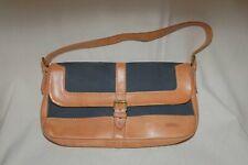 Bree Small Shoulder Bag Handbag Clutch Bag Natural Light Brown/Dark Blue