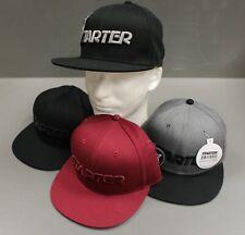 Starter Men's STAR-FIT Flat Brim Cap, Small/Medium, New