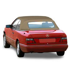 Mercedes W124 E320 300CE 1992-1995 Convertible Soft Top Tan Stayfast cloth