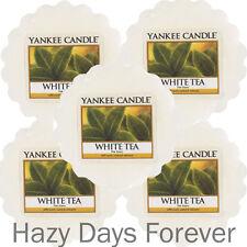 5 YANKEE CANDLE WAX TARTS MELTS White Tea  BUY 2+ SAVE 20%