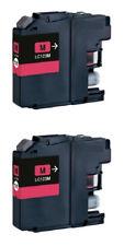 2 inchiostro LC123M COMPATIBILI per BROTHER MFC-J6520DW MFC-J6720DW MFC-J6920DW