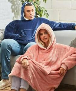 Oversized Sherpa Hoodie Christmas Gift with FREE Fluffy Socks