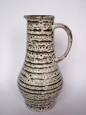 JASBA 120725 Krugvase Keramik 25,5 cm - FAT LAVA Mid Century West German Pottery