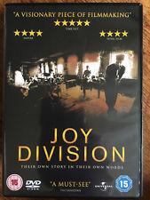 JOY DIVISION ~ 2007 British Rock Pop / Ian Curtis Documentary Film | UK DVD