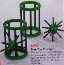 FREE THE PRISONER Mind Teaser Puzzle Pop the Earth Brain Educational Toy New
