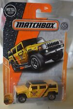 MATCHBOX HUMMER H2 SUV CONCEPT MBX CONSTRUCTION 8/20 HIGHLY DETAILED NEW
