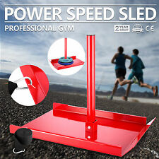 speed power sled fitness Resistance Strength Drag Agility Training W/Harness