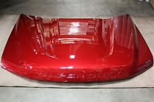 OEM 2020 SUPER DUTY Aluminum Hood LUCID RED PEARL Factory Ford New Take Off