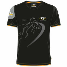Official 2020 Isle of Man TT Races Custom's T'Shirt - 20ACTS1S SMALL