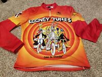 Giordana Cycling Jersey Looney Tunes Warner XL, 22 inches across chest, 1993