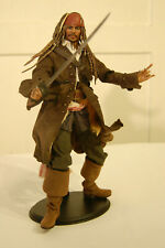 1/6 scale  custom  Captain Jack Sparrow  Pirates of the Caribbean  Figure