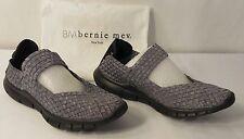 Bernie Mev Women's Charm 2 Slip-on Shoe, Pewter, Size 8.5-9 US / 39 EU