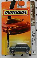 1964 64 AUSTIN MINI COOPER GREEN 2 2009 MBX MB MATCHBOX
