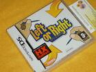 LEFT OR RIGHT TUTTI AMBIDESTRI ! Nintendo DS NUOVO SIGILLATO vers. ITALIANO 3DS