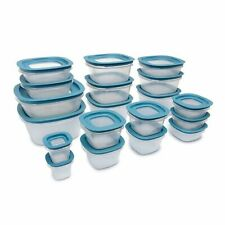 RUBBERMAID 38 PIECE FLEX AND SEAL LID CONTAINERS SET 199 NEW