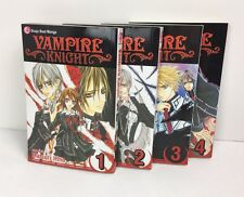 Shojo Beat Manga Vampire Knights Graphic Novels Volume 1-4 Books