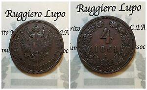 Europa - Austria Osterreich 4 Kreuzer 1861 A km 2194 xf