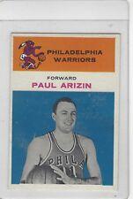 1961 FLEER BASKETBALL #.2 PAUL ARIZIN