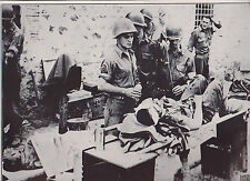 German Prisoners Guarded by French in Cassino WWII Dispatch Photo News Service