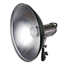 Beauty Dish 42 cm silber + Diffusor f. BRONCOLOR PULSO