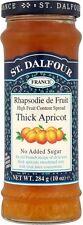 ST. DALFOUR spessa Albicocca Marmellata senza zuccheri aggiunti (4x284g)