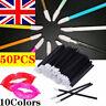 50PCS Disposable Lip Gloss Wands Brushes Lipstick Applicator Makeup Tool Stick