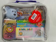 TY Beanie Babies Official Platinum Membership Case Complete Brand New