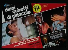 FOTOBUSTA 2, DIECI CUBETTI DI GHIACCIO Run Like a Thief GLASSER THRILLER POSTER
