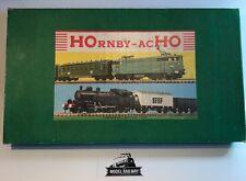 Hornby ~ ACHO - MECCANO SNCF BO-BO DIESEL/COACH TRAIN PACK - RARE VINTAGE PIECE