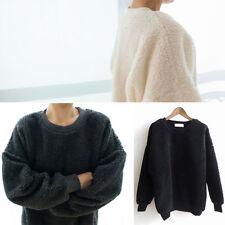 Long Sleeve Acrylic Knit Regular Tops & Blouses for Women