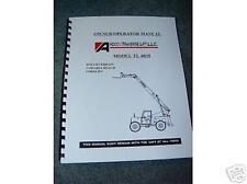 New Pettibone / Traverse Forklift TL-6035 Oper Manual