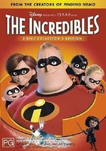 The Incredibles (DVD, 2-Disc Set) DISNEY PIXAR ANIMATION - Kids Movie