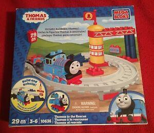 Mega Bloks Thomas & Friends #10636 Thomas to the Rescue - NIP