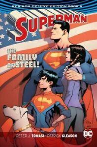 Superman Rebirth 4, Hardcover by Tomasi, Peter J.; Gleason... X1105