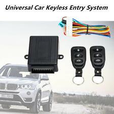 Universal DC 12V Car Remote Central Kit Door Lock SUV Auto Keyless Entry System
