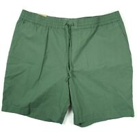 Penguin Mens Shorts Size XL Slim Fit Green Casual Drawstring Waist Cotton Blend